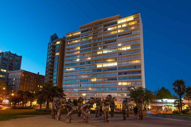 902 1835 MORTON AVENUE - West End VW Apartment/Condo for sale, 1 Bedroom (R2570024)