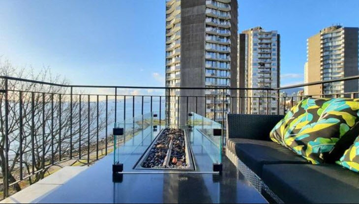 803 1575 BEACH AVE  - University VW Apartment/Condo for sale, 2 Bedrooms (R2551177)
