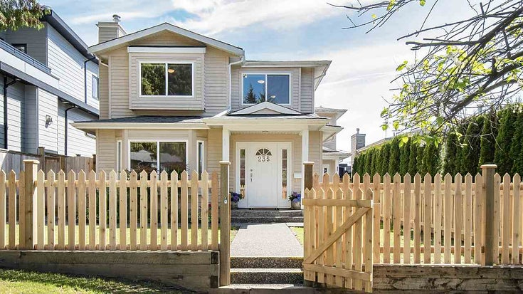 235 W 19TH STREET - Central Lonsdale 1/2 Duplex for sale, 3 Bedrooms (R2381469)