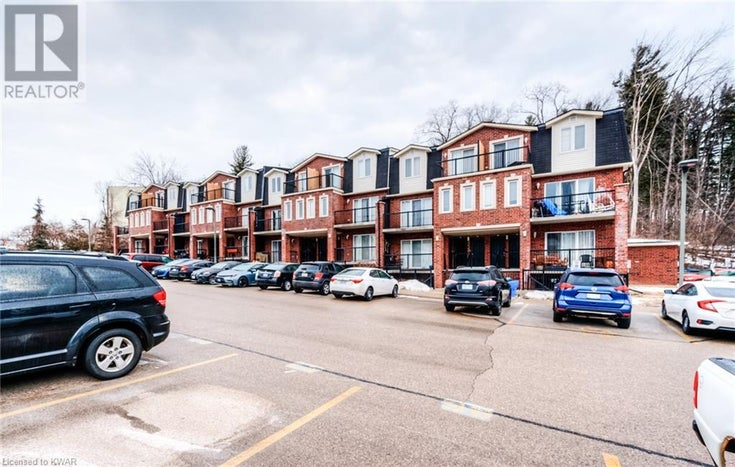 45 CEDAR HILL Crescent Unit# 7A - Kitchener Row / Townhouse for sale, 2 Bedrooms (40078049)