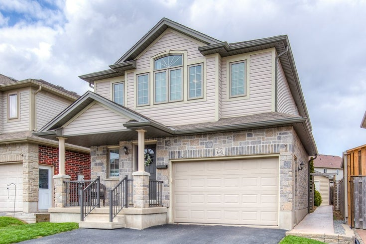 66 Huck Crescent - Kitchener Single Family for sale, 3 Bedrooms (30803187)