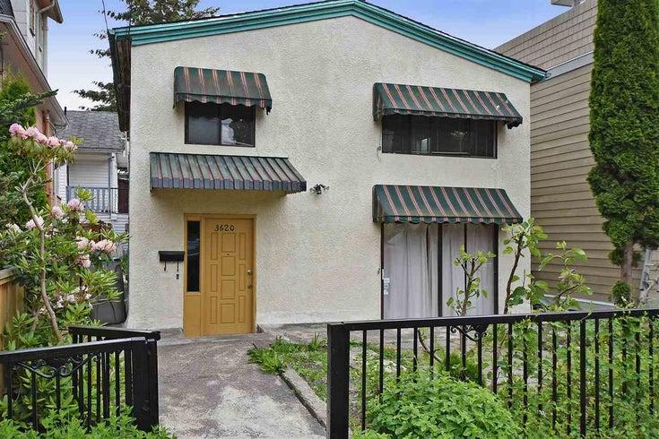 3620 CAROLINA STREET - Fraser VE House/Single Family for sale, 4 Bedrooms (R2072386)