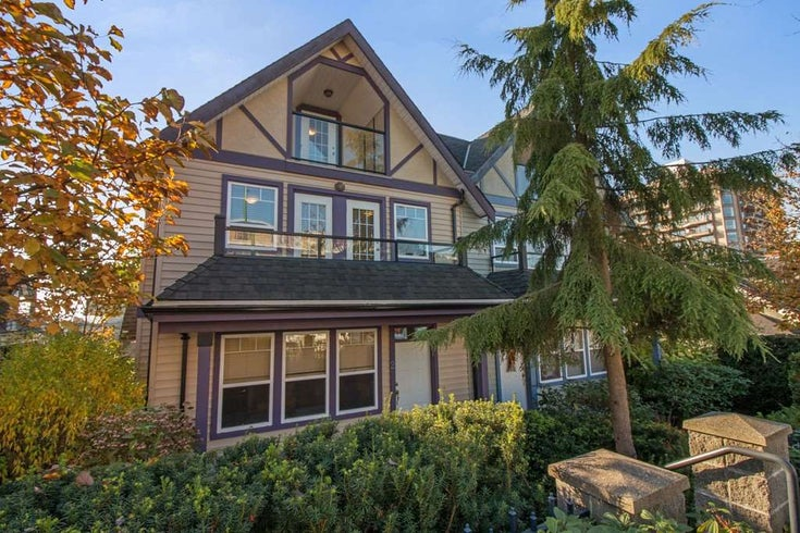 2 3838 ALBERT STREET - Vancouver Heights Townhouse for sale, 3 Bedrooms (R2219200)