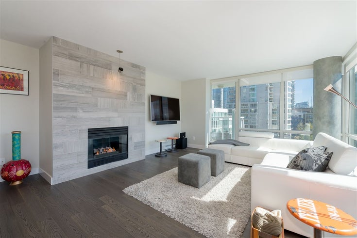 906 1500 HORNBY STREET - Yaletown Apartment/Condo for sale, 2 Bedrooms (R2417560)