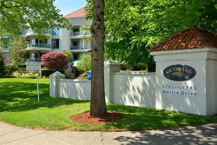 105 1705 MARTIN DRIVE - Sunnyside Park Surrey Apartment/Condo for sale, 2 Bedrooms (R2309610)