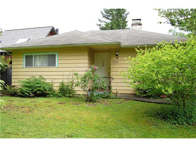 1165 CORTELL ST - Pemberton Heights House/Single Family for sale, 2 Bedrooms (V956502) #1