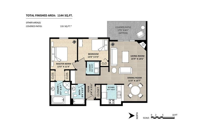 104 1441 BLACKWOOD STREET - White Rock Apartment/Condo for sale, 2 Bedrooms (R2234722) #17