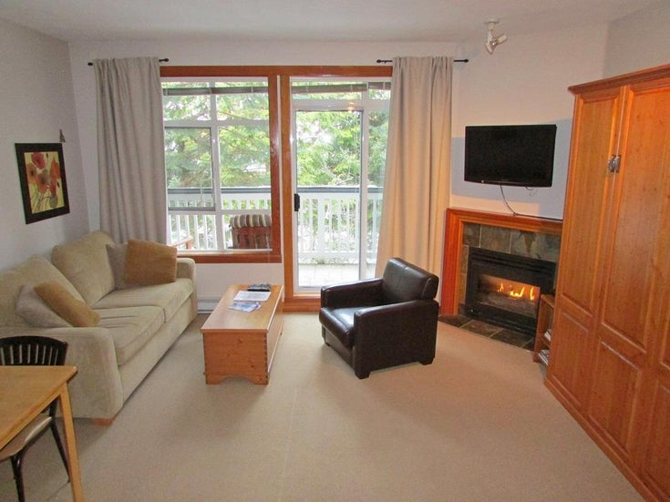 308 4405 Blackcomb Way - Whistler Village Townhouse for sale, 1 Bedroom (R2246343)