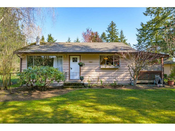 20587 24 AVENUE - Brookswood Langley House with Acreage for sale, 2 Bedrooms (R2568664)
