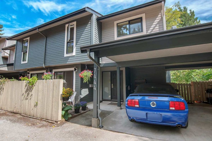 7444 MEADOWLAND PLACE - Champlain Heights Townhouse for sale, 2 Bedrooms (R2393285)