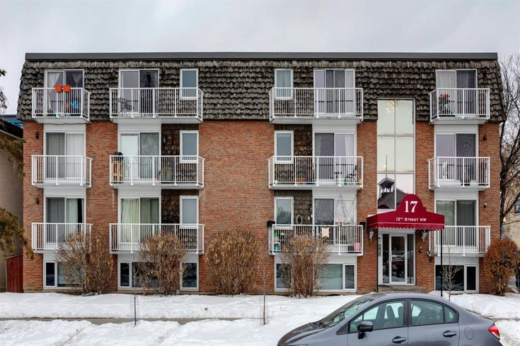 101, 17 13 Street NW - Hillhurst Apartment for sale, 1 Bedroom (A1060255)