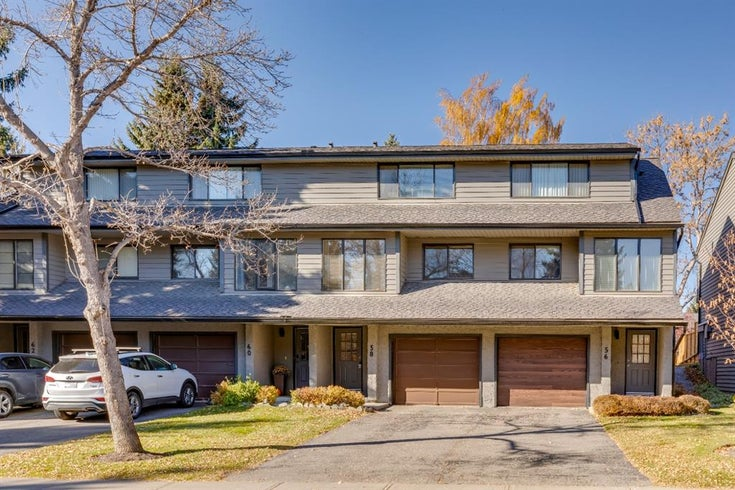 58 Point Drive NW - Point McKay Row/Townhouse for sale, 2 Bedrooms (A1156665)