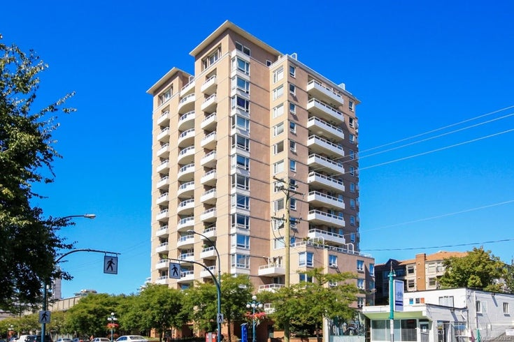 1201 930 Yates St - Vi Downtown Condo Apartment for sale, 1 Bedroom (866382)