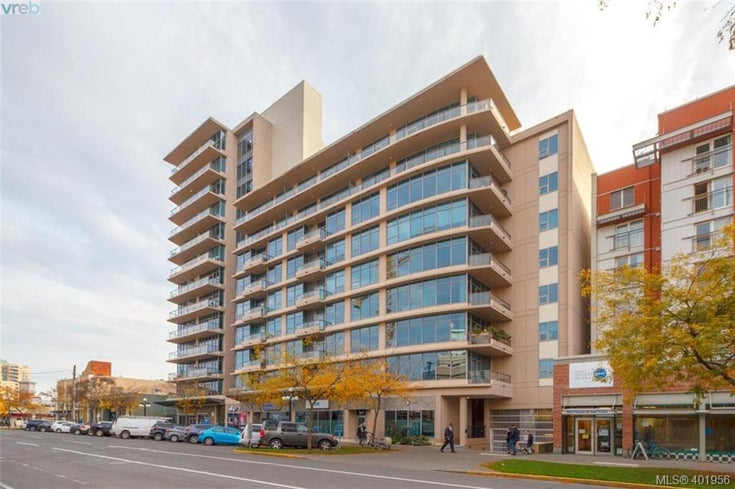 202 845 Yates St - Vi Downtown Condo Apartment for sale, 1 Bedroom (401956)