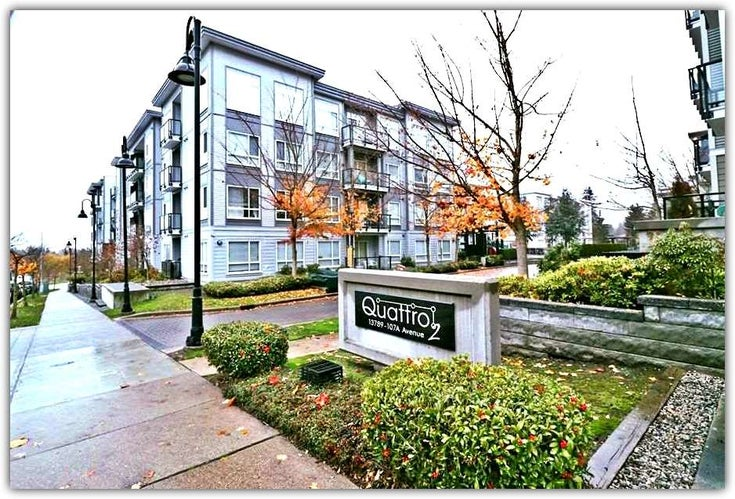 415 13789 107A AVENUE - Whalley Apartment/Condo for sale, 1 Bedroom (R2431857)