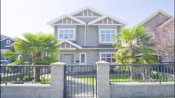 6815 FRASER STREET - South Vancouver House/Single Family for sale, 4 Bedrooms (R2562992)