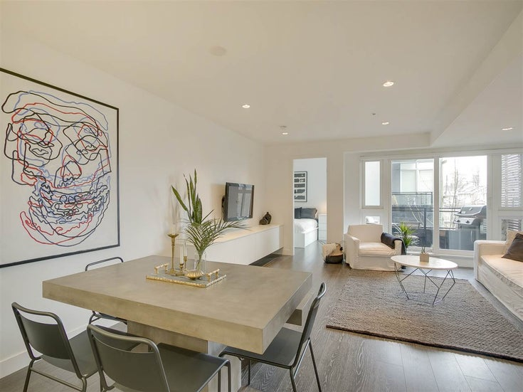330 1588 E HASTINGS STREET - Hastings Apartment/Condo for sale, 1 Bedroom (r2259052)
