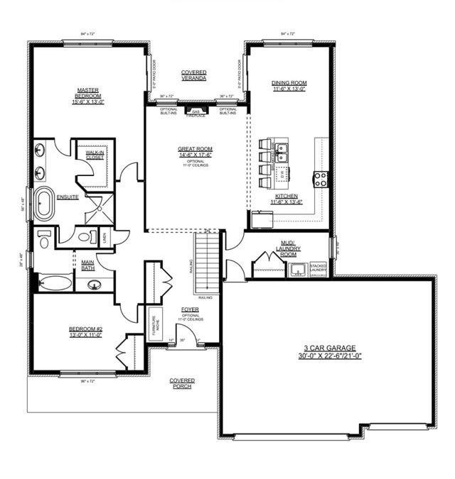 The Oakwood - Nithburg Single Family for sale, 2 Bedrooms
