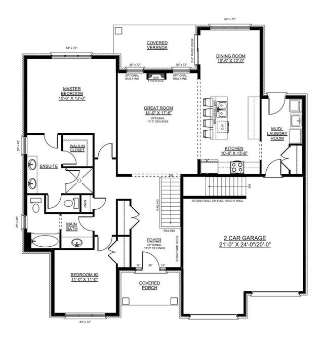 The Elmwood - Nithburg Single Family for sale, 2 Bedrooms