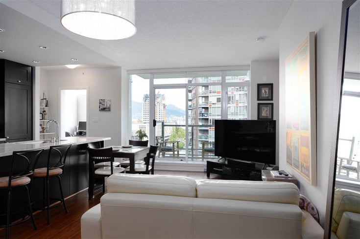 1403 821 CAMBIE STREET - Downtown VW Apartment/Condo for sale, 1 Bedroom (R2453353)