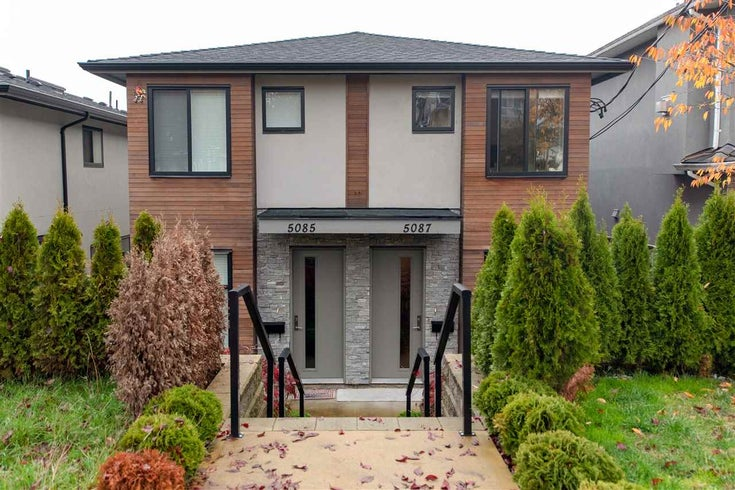 5087 DOMINION STREET - Central BN 1/2 Duplex for sale, 4 Bedrooms (R2386826)