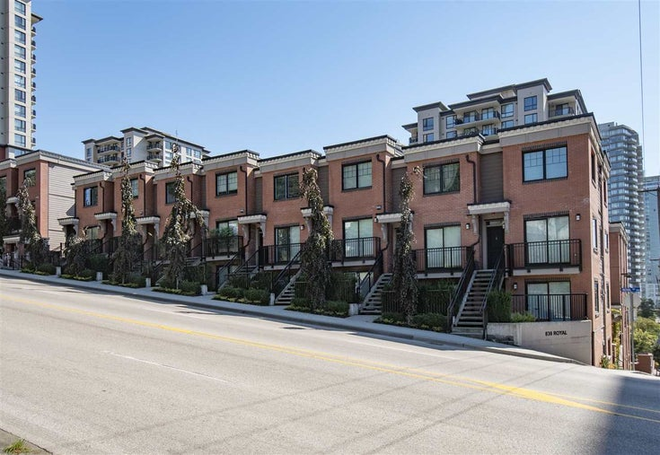 1 838 ROYAL AVENUE - Downtown NW Townhouse for sale, 2 Bedrooms (R2404072)