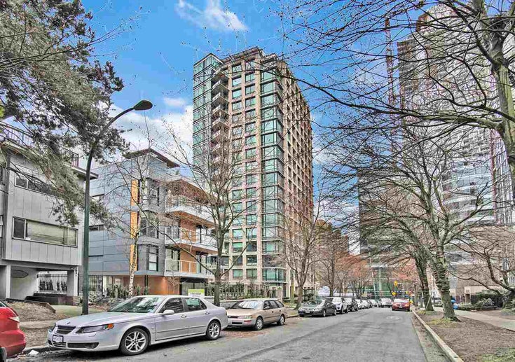 1501 1003 BURNABY STREET - West End VW Apartment/Condo for sale, 1 Bedroom (R2555583)