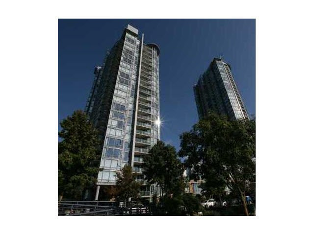 606 1067 Marinaside Crescent - Yaletown Apartment/Condo for sale, 1 Bedroom (V1091315)