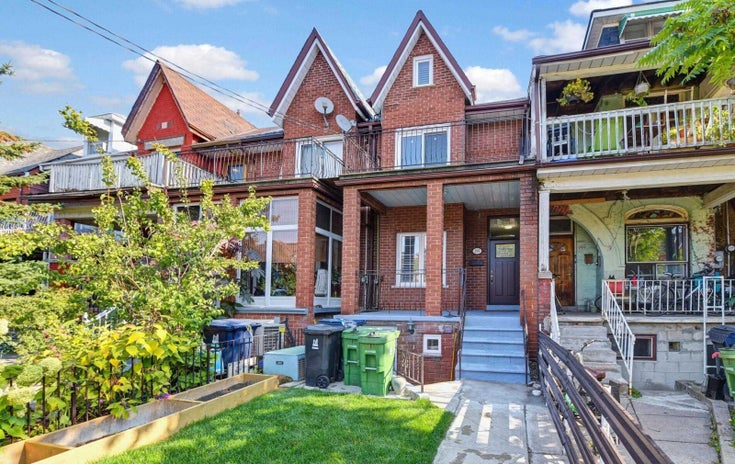 295 Clinton St - Palmerston-Little Italy Att/Row/Twnhouse for sale, 5 Bedrooms (C4953318)