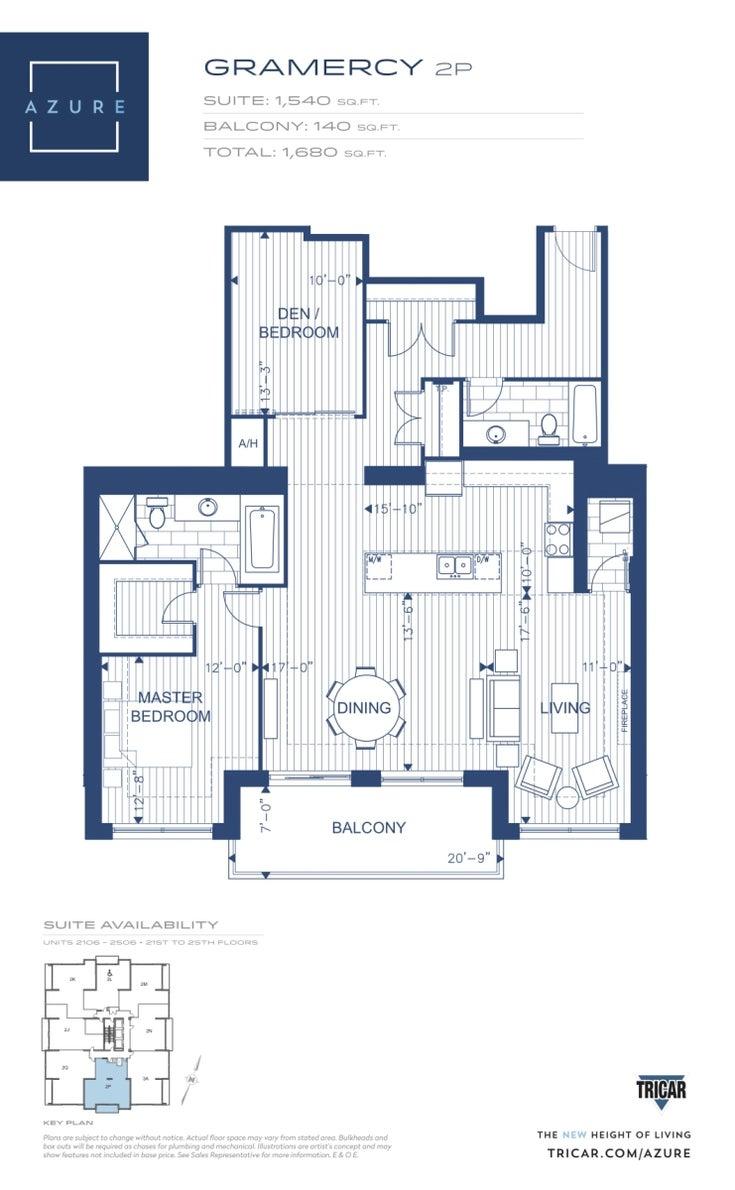 2506 - 505 Tablot  - London Ontario APTU for sale, 1.5 Bedrooms