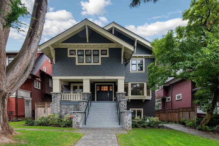 2 2546 W 3RD AVENUE - Kitsilano 1/2 Duplex for sale, 4 Bedrooms (R2425876)