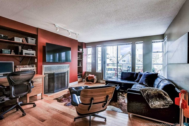 206 838 W 14TH AVENUE - Fairview VW Apartment/Condo for sale, 2 Bedrooms (R2240446)