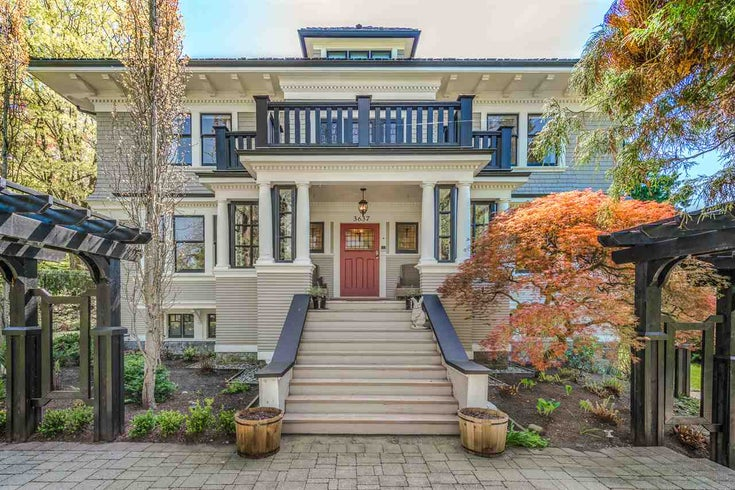 3637 CEDAR CRESCENT - Shaughnessy House/Single Family for sale, 5 Bedrooms (R2266751)