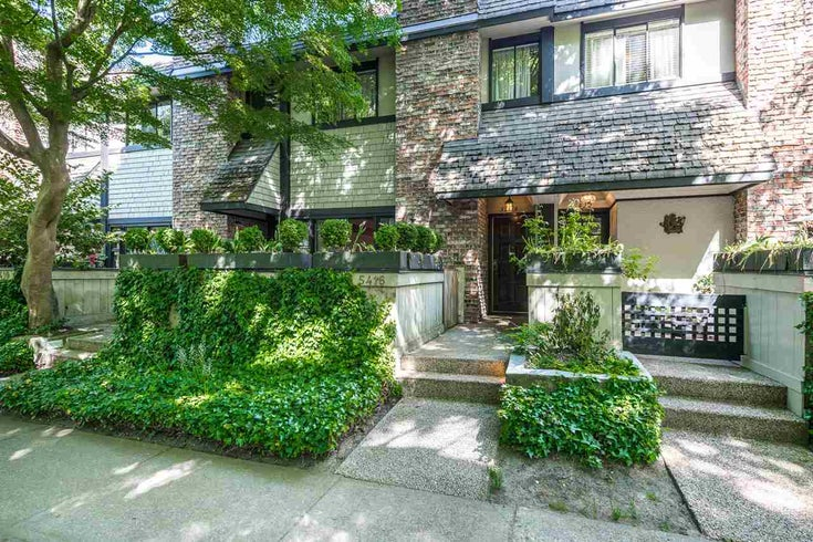 5416 YEW STREET - Kerrisdale Townhouse for sale, 2 Bedrooms (R2285701)