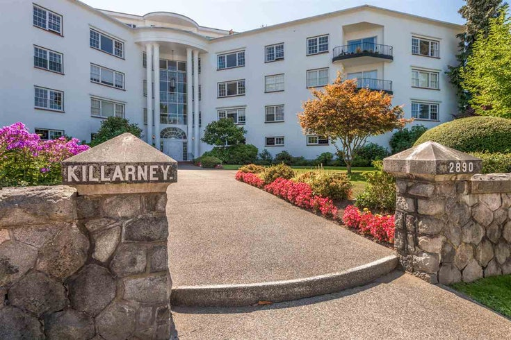 207 2890 POINT GREY ROAD - Kitsilano Apartment/Condo for sale, 2 Bedrooms (R2402324)