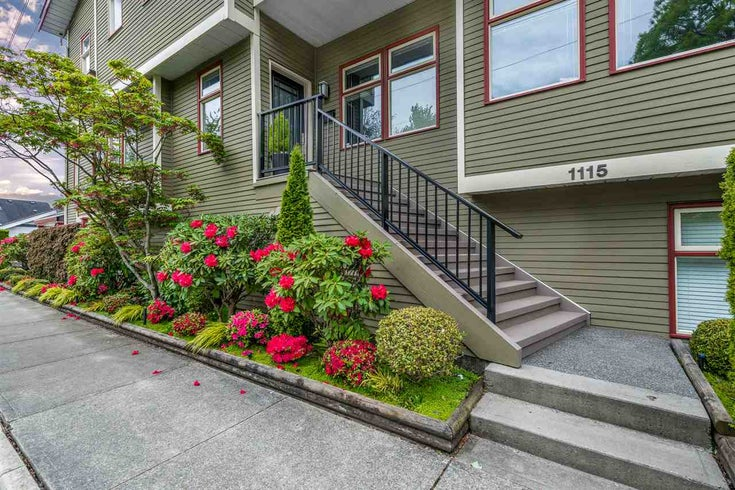 1115 CHESTNUT STREET - Kitsilano Townhouse for sale, 2 Bedrooms (R2438508)