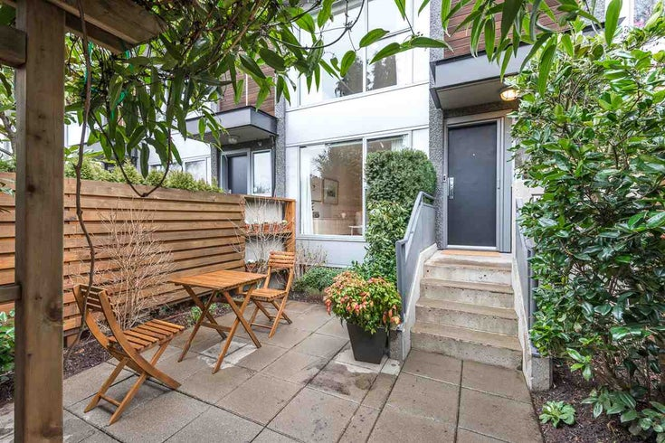 1438 ARBUTUS STREET - Kitsilano Townhouse for sale, 2 Bedrooms (R2439778)