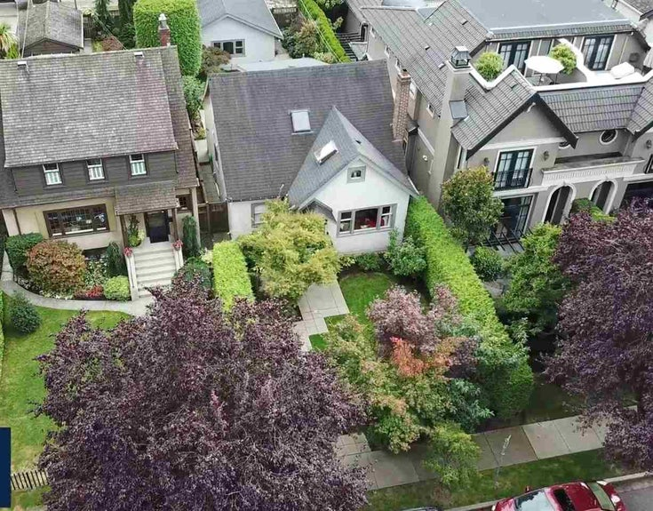 1850 WHYTE AVENUE - Kitsilano House/Single Family for sale, 2 Bedrooms (R2495089)