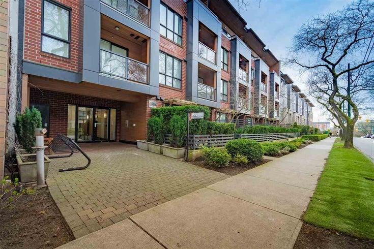 303 2020 W 12TH AVENUE - Kitsilano Apartment/Condo for sale, 1 Bedroom (R2556387)