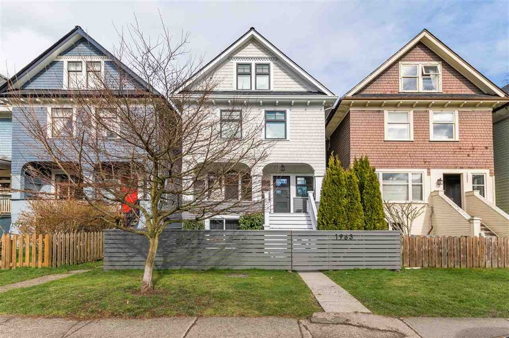 1963 W 1ST AVENUE - Kitsilano House/Single Family for sale, 6 Bedrooms (R2588017)