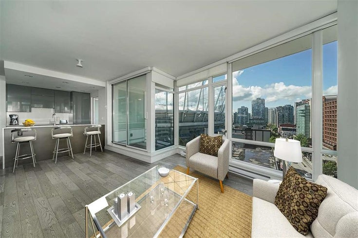 1107 161 West Georgia Street, Vancouver, BC - Downtown VW Apartment/Condo for sale, 2 Bedrooms (R2577144)