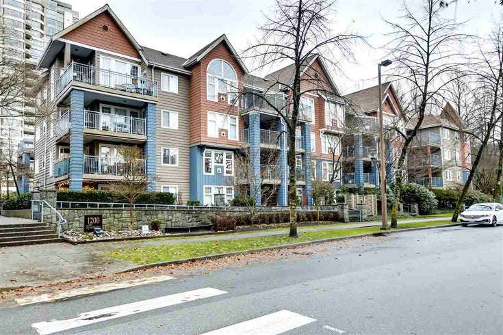 207 1200 EASTWOOD STREET - North Coquitlam Apartment/Condo for sale, 1 Bedroom (R2525850)