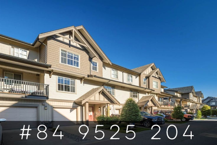 84 9525 204 STREET - Walnut Grove Townhouse for sale, 4 Bedrooms (R2516386)