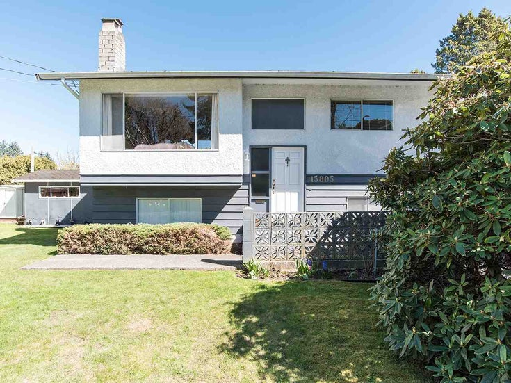 15805 THRIFT AVENUE - White Rock House/Single Family for sale, 5 Bedrooms (R2566510)