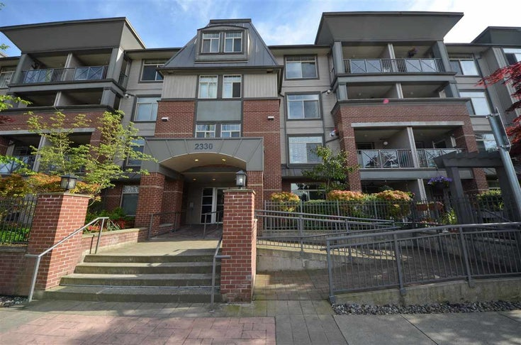 211 2330 WILSON AVENUE - Central Pt Coquitlam Apartment/Condo for sale, 1 Bedroom (R2577647)