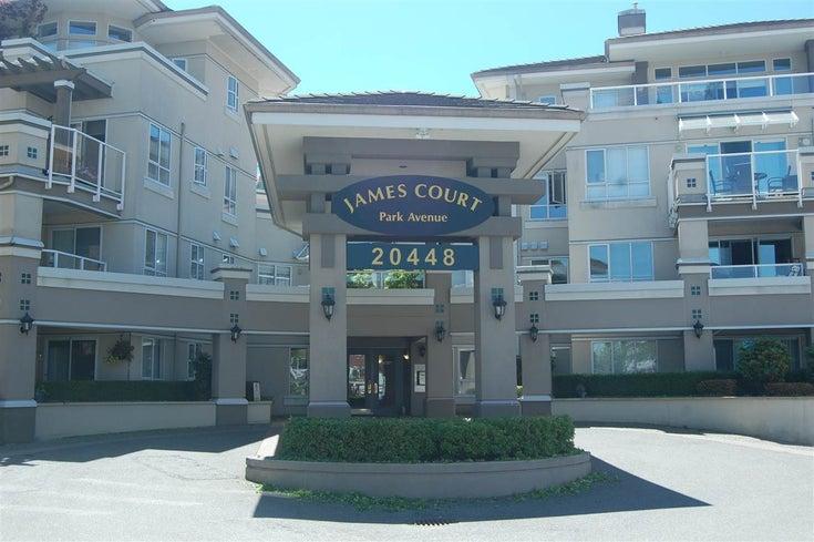 316 20448 PARK AVENUE - Langley City Apartment/Condo for sale, 1 Bedroom (R2378887)