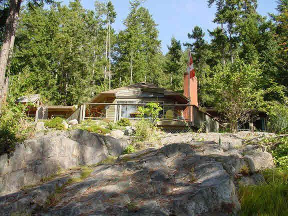13430 Lee Bay Road - Pender Harbour Egmont House/Single Family for sale, 2 Bedrooms (V614531)