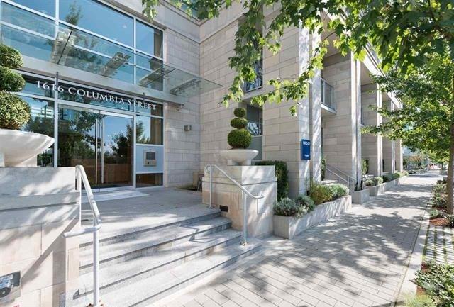 601 1616 COLUMBIA STREET - False Creek Apartment/Condo for sale, 1 Bedroom (R2171124)