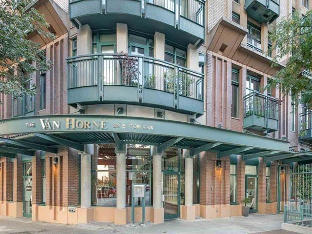 417 22 E CORDOVA STREET - Downtown VE Apartment/Condo for sale, 1 Bedroom (R2327396)