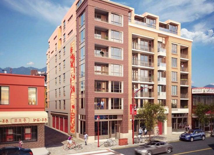 403 231 E PENDER STREET - Strathcona Apartment/Condo for sale, 1 Bedroom (R2423871)